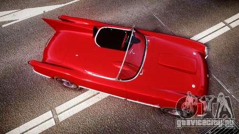 Chevrolet Corvette C1 1953 race для GTA 4 вид справа