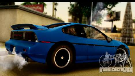 Pontiac Fiero GT G97 1985 IVF для GTA San Andreas вид справа