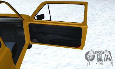 Fiat 126p FL для GTA San Andreas салон