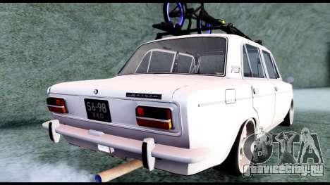 ВАЗ 2103 Retro для GTA San Andreas вид сзади слева