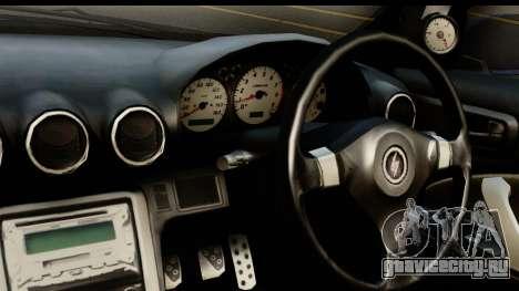 Nissan Silvia S15 Camber Edition для GTA San Andreas вид сзади слева