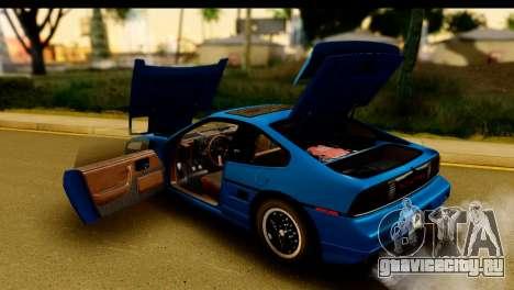 Pontiac Fiero GT G97 1985 IVF для GTA San Andreas вид сбоку