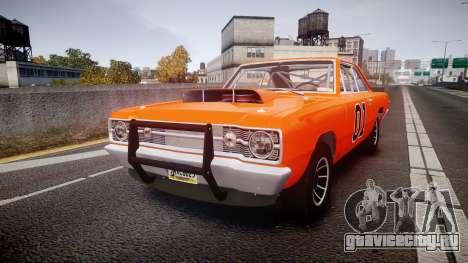 Dodge Dart HEMI Super Stock 1968 rims4 для GTA 4