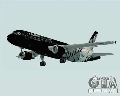 Airbus A320-200 Air New Zealand для GTA San Andreas вид сверху
