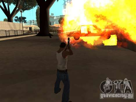 Effects by Lopes 2.2 New для GTA San Andreas четвёртый скриншот