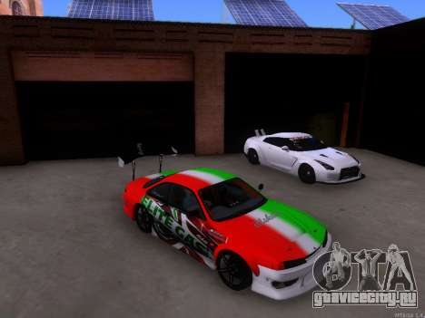Nissan 200SX Elite Gas для GTA San Andreas вид слева