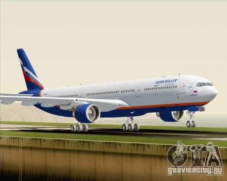 Airbus A330-300 Aeroflot - Russian Airlines для GTA San Andreas вид слева