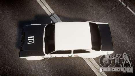 Ford Escort RS1600 PJ10 для GTA 4 вид справа