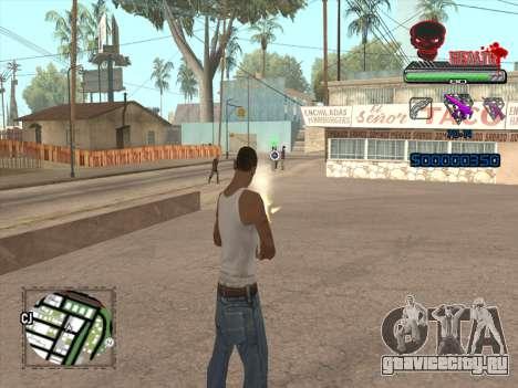C-HUD by VinC для GTA San Andreas четвёртый скриншот