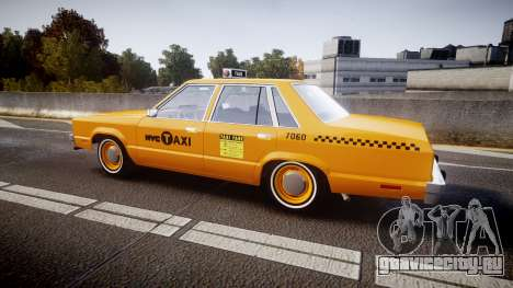 Ford Fairmont 1978 Taxi v1.1 для GTA 4 вид слева