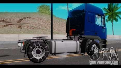 Iveco Eurotech для GTA San Andreas вид слева