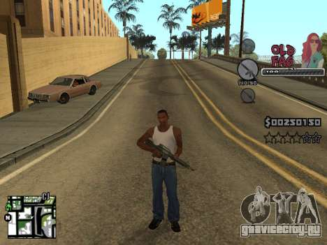 C-HUD Universal v2 для GTA San Andreas четвёртый скриншот