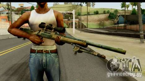 M24 from Sniper Ghost Warrior 2 для GTA San Andreas
