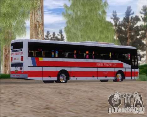 Nissan Diesel UD Peoples Transport Corporation для GTA San Andreas вид справа