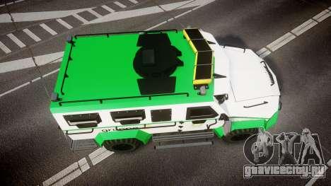 Gruppe6 Van [ELS] для GTA 4 вид справа