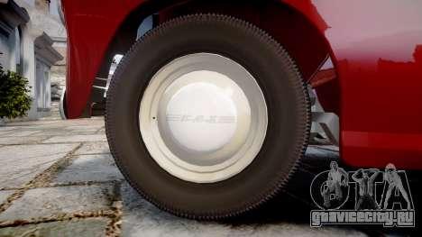 ГАЗ-М-20 Победа для GTA 4 вид сзади