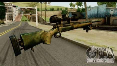 M24 from Sniper Ghost Warrior 2 для GTA San Andreas второй скриншот