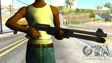 Shotgun from Global Ops: Commando Libya для GTA San Andreas третий скриншот