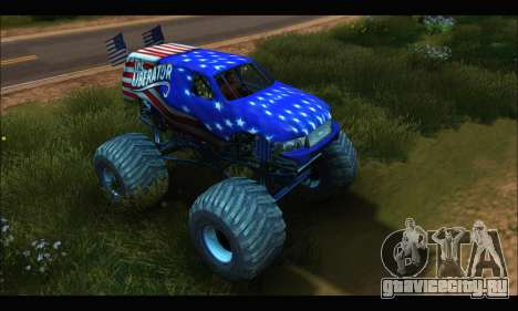 Monster The Liberator (GTA V) для GTA San Andreas вид слева