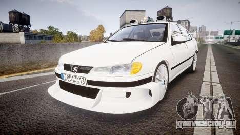 Peugeot 406 Taxi [Final] для GTA 4