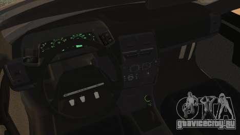 Lada 2112 для GTA San Andreas вид сзади слева