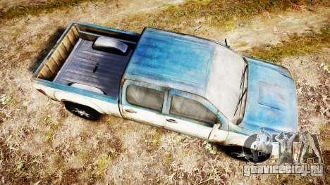 Пикап из The Last of Us для GTA 4 вид справа