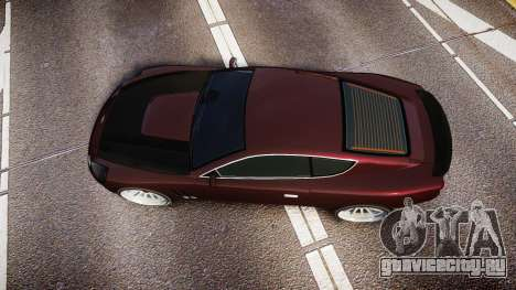 Dewbauchee Super GT Sport для GTA 4 вид справа
