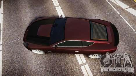 Dewbauchee Super GT Sport для GTA 4