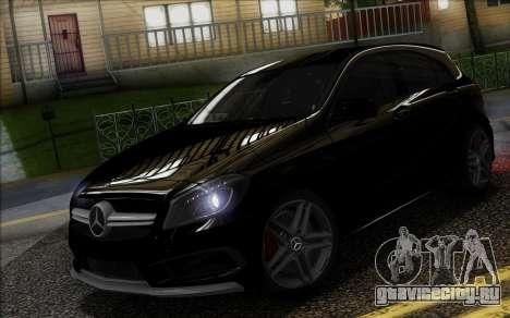 Mercedes-Benz A45 AMG для GTA San Andreas вид слева