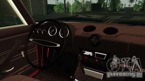 ВАЗ 2106 Жигули v2 для GTA San Andreas вид сзади