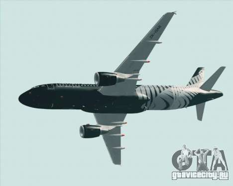 Airbus A320-200 Air New Zealand для GTA San Andreas колёса