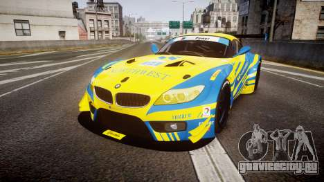BMW Z4 GT3 2012 Northwest для GTA 4
