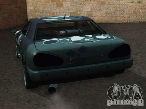 Elegy Korch для GTA San Andreas вид сзади слева
