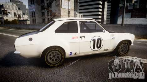 Ford Escort RS1600 PJ10 для GTA 4 вид слева