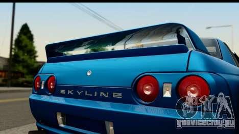 Nissan Skyline R32 Targa для GTA San Andreas вид сзади слева