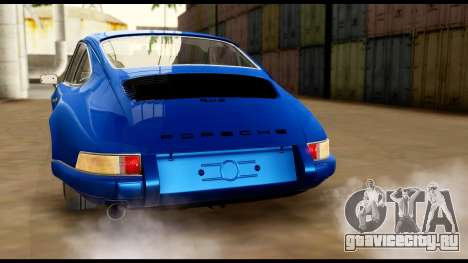 Porsche 911 Carrera 2.7RS Coupe 1973 Tunable для GTA San Andreas колёса
