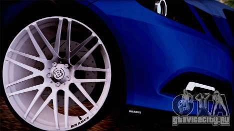 Brabus 900 для GTA San Andreas вид сзади слева