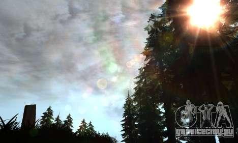 Новые блики для GTA San Andreas