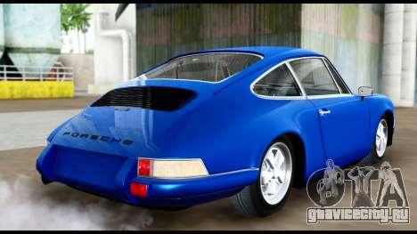 Porsche 911 Carrera 2.7RS Coupe 1973 Tunable для GTA San Andreas вид слева