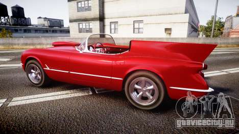 Chevrolet Corvette C1 1953 race для GTA 4 вид слева