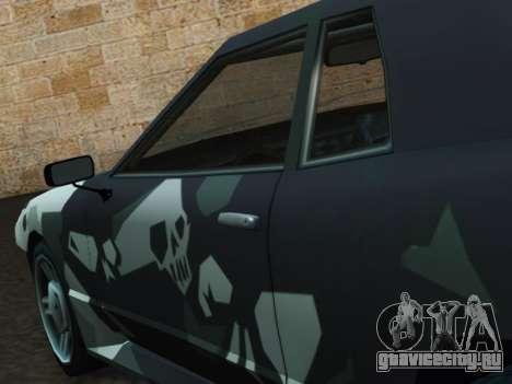 Elegy Korch для GTA San Andreas вид справа