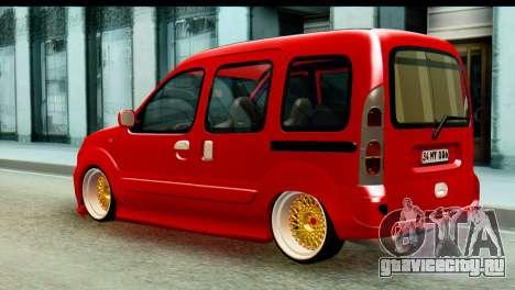 Renault Kangoo для GTA San Andreas вид слева