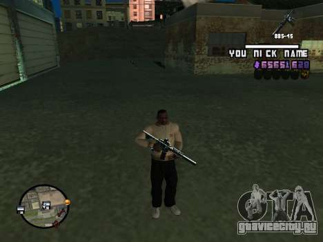 C-HUD by SantiManti для GTA San Andreas