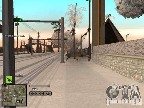 Простенький C-HUD для GTA San Andreas пятый скриншот