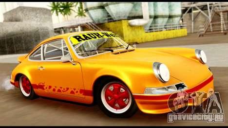 Porsche 911 Carrera 2.7RS Coupe 1973 Tunable для GTA San Andreas