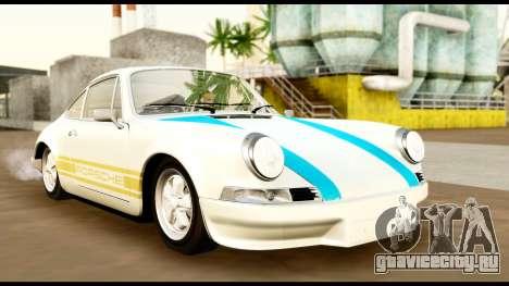 Porsche 911 Carrera 2.7RS Coupe 1973 Tunable для GTA San Andreas вид сбоку