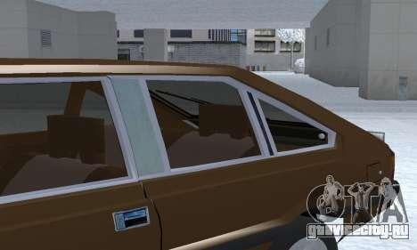 FSO Polonez 2.0X Coupe для GTA San Andreas вид снизу