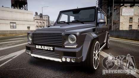 Mercedes-Benz G65 Brabus rims2 для GTA 4