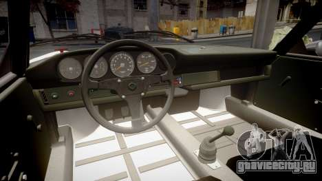 Porsche 911 Carrera RSR 3.0 1974 PJnfs666 для GTA 4 вид изнутри
