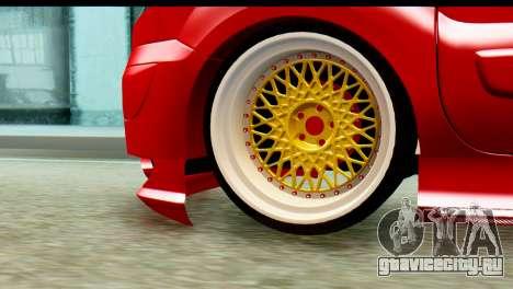 Renault Kangoo для GTA San Andreas вид сзади слева
